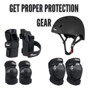 Get Proper Protection Gear
