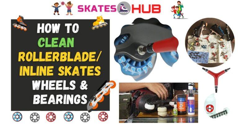 How To Clean Rollerblade or Inline Skates Wheels & Bearings